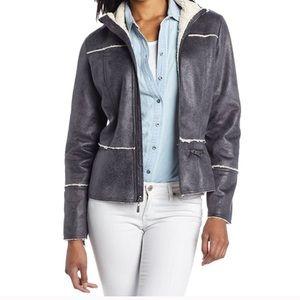 Prana Esme Women's Faux Sherpa/Suede Jacket